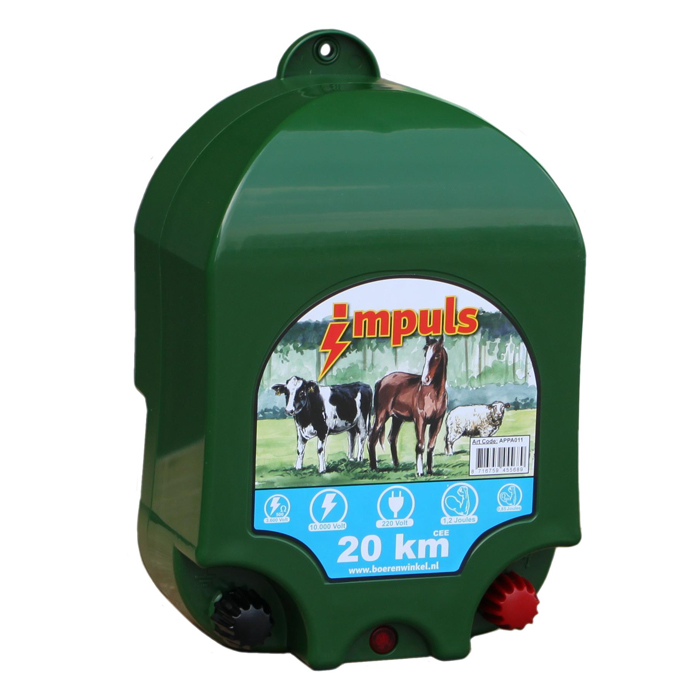 With one of our energizers you can easily and quickly provide power to your fence!