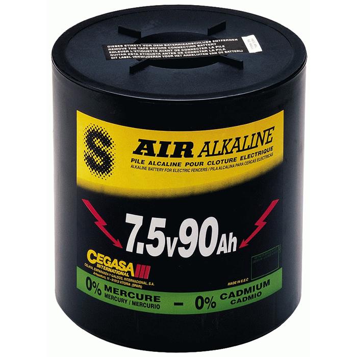 Batterijen voor schrikdraadapparaten, geschikt voor verschillende types afrasteringen.