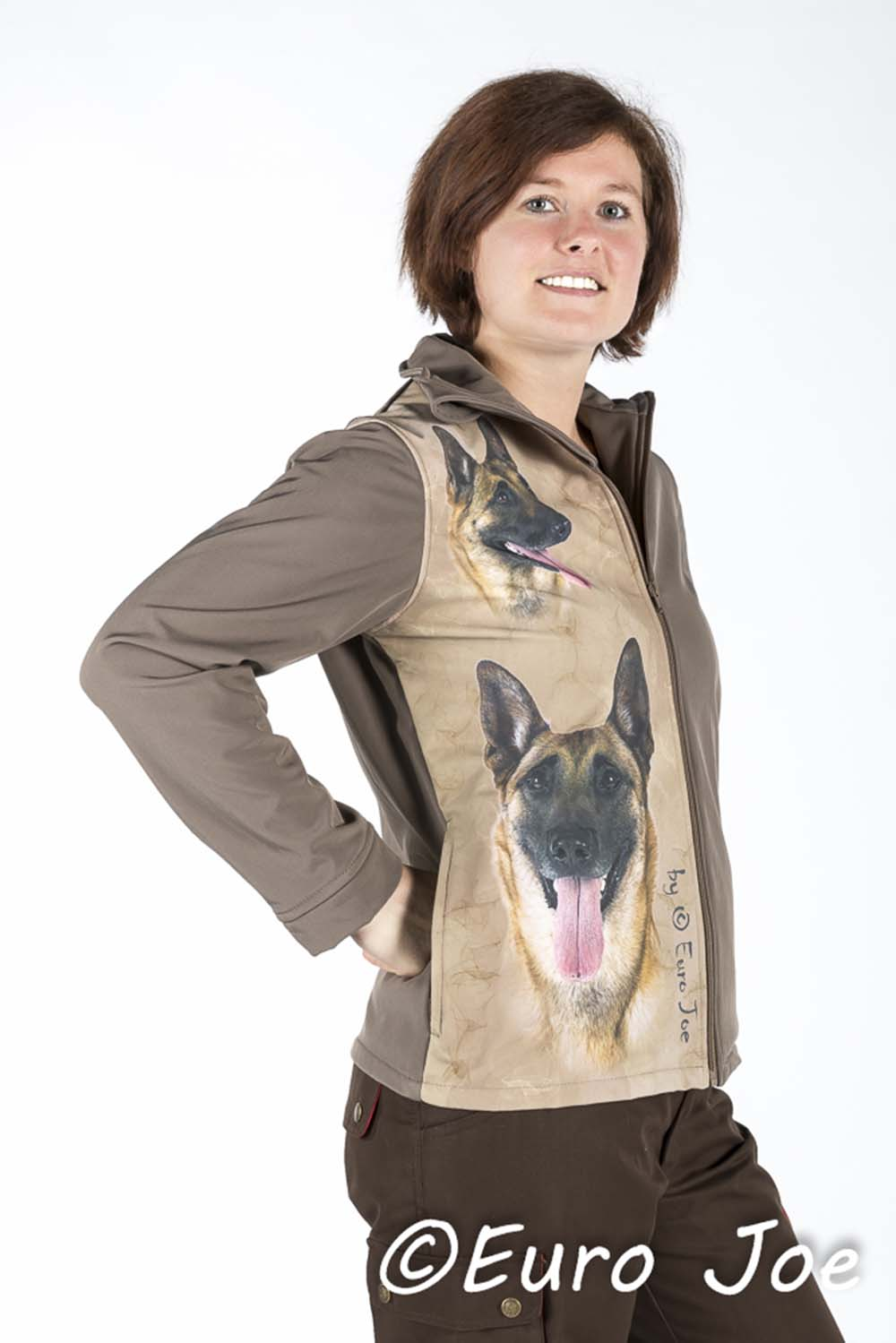 Softshell Vest Special-D 10 Taupe