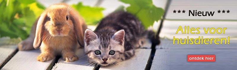 Alles voor huisdieren - katten - honden