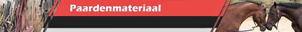 Producten voor paarden - Al uw paadenmateriaal gemakkelijk online bestellen.