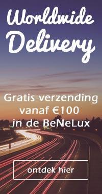 Gratis verzending vanaf €100 in de Benelux