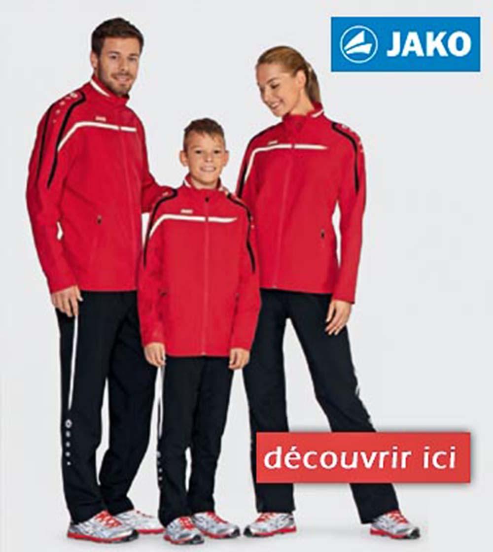 jaco vêtements du sports