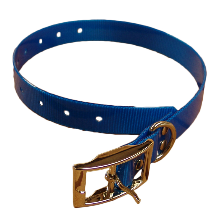 Nylon dog collars available in several collors and designs!