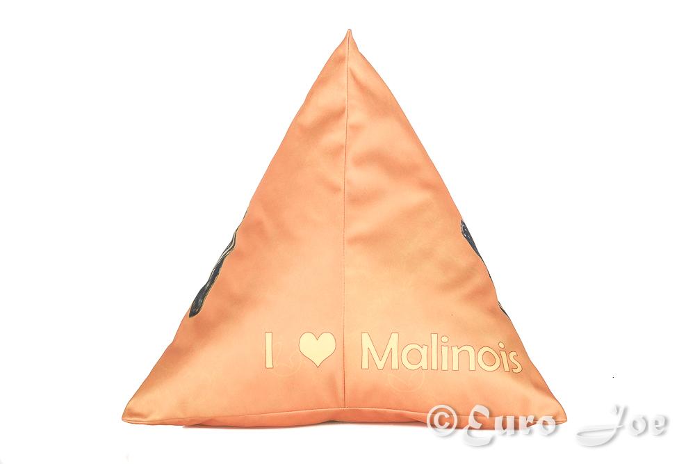 Piramidekussen Mechelaar (Oranje)