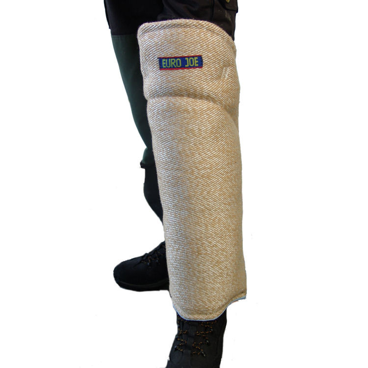 Leg sleeves in jute for dogsport training