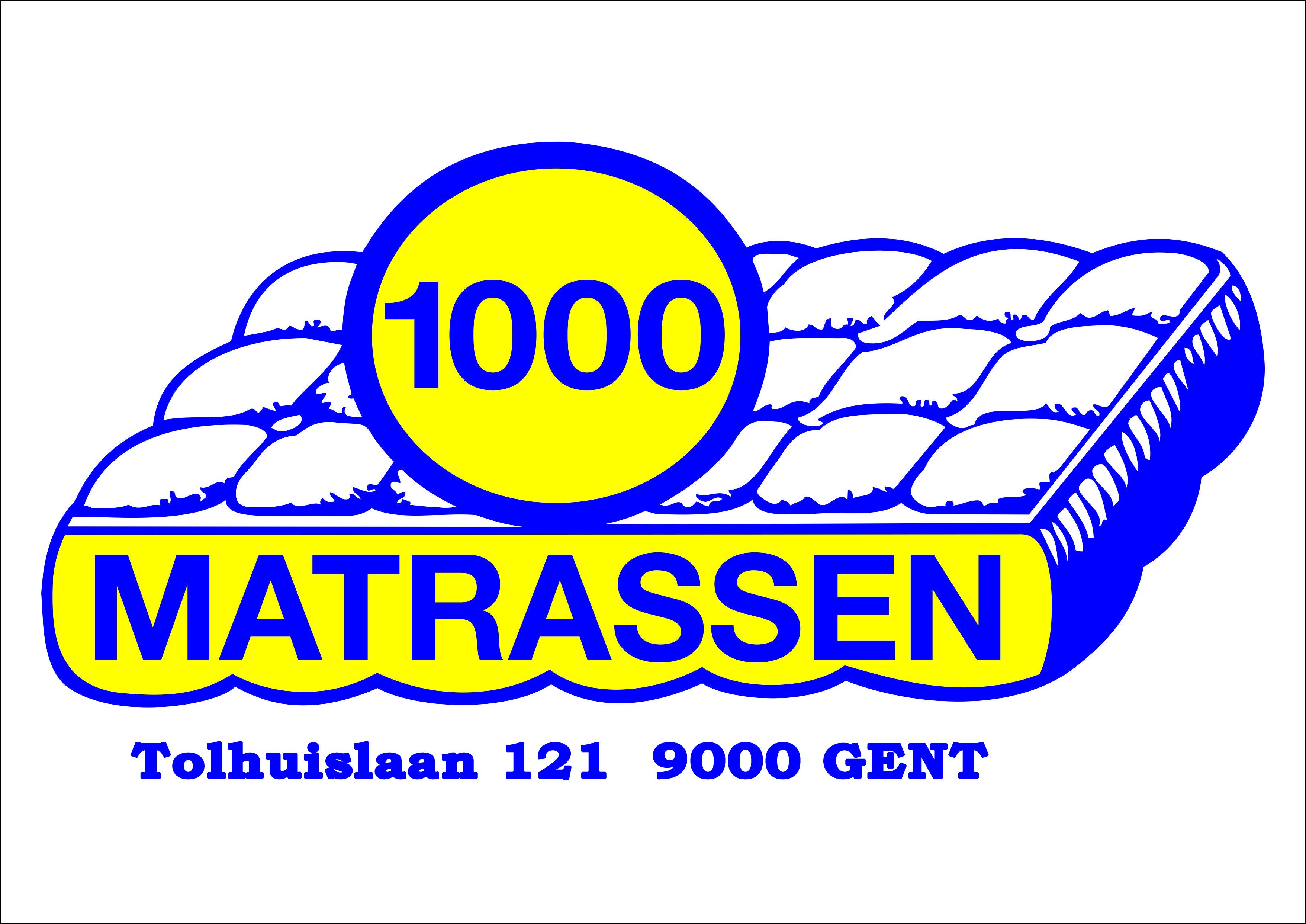 1000 matrassen
