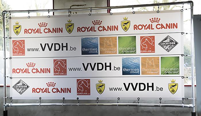 Promotiezeil VVDH