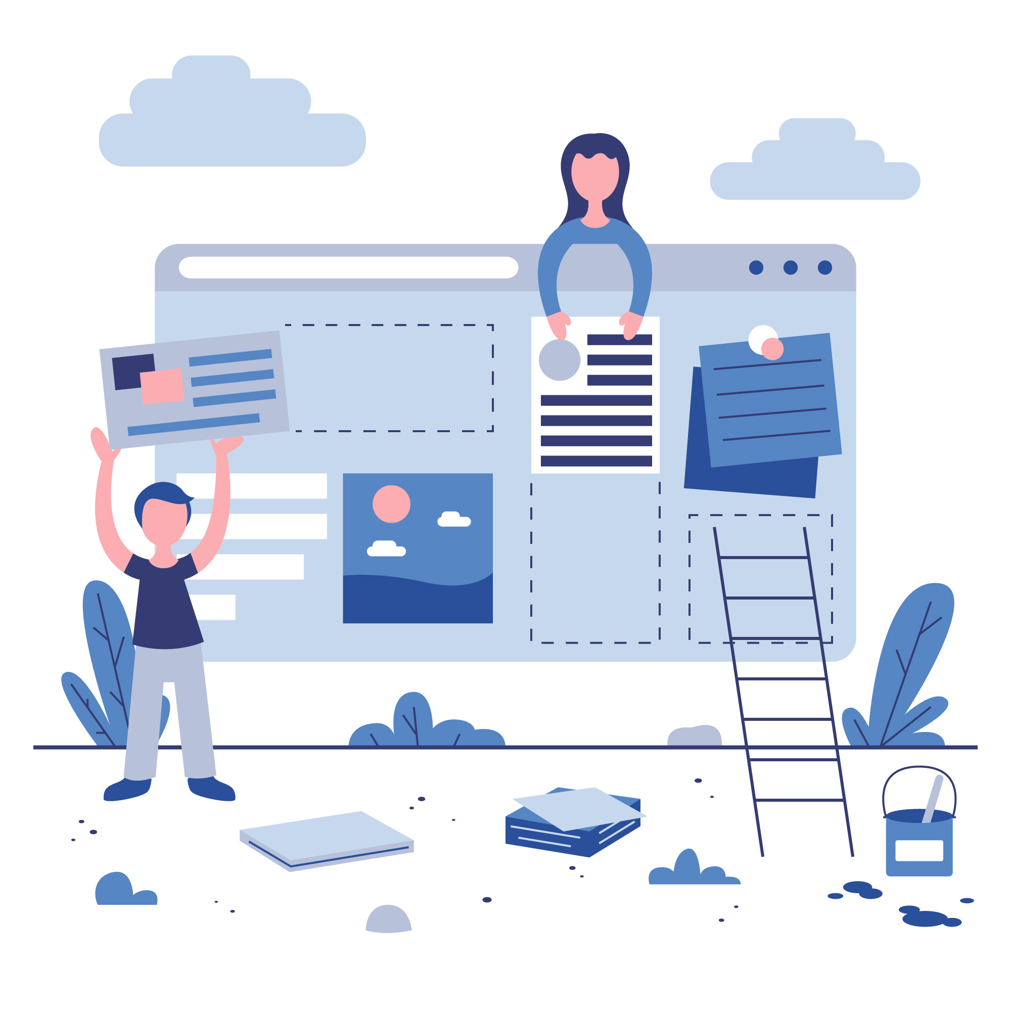 Hoe ziet de ideale webdesign eruit