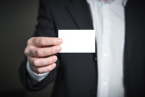 Zijn visitekaartjes nog nuttig?