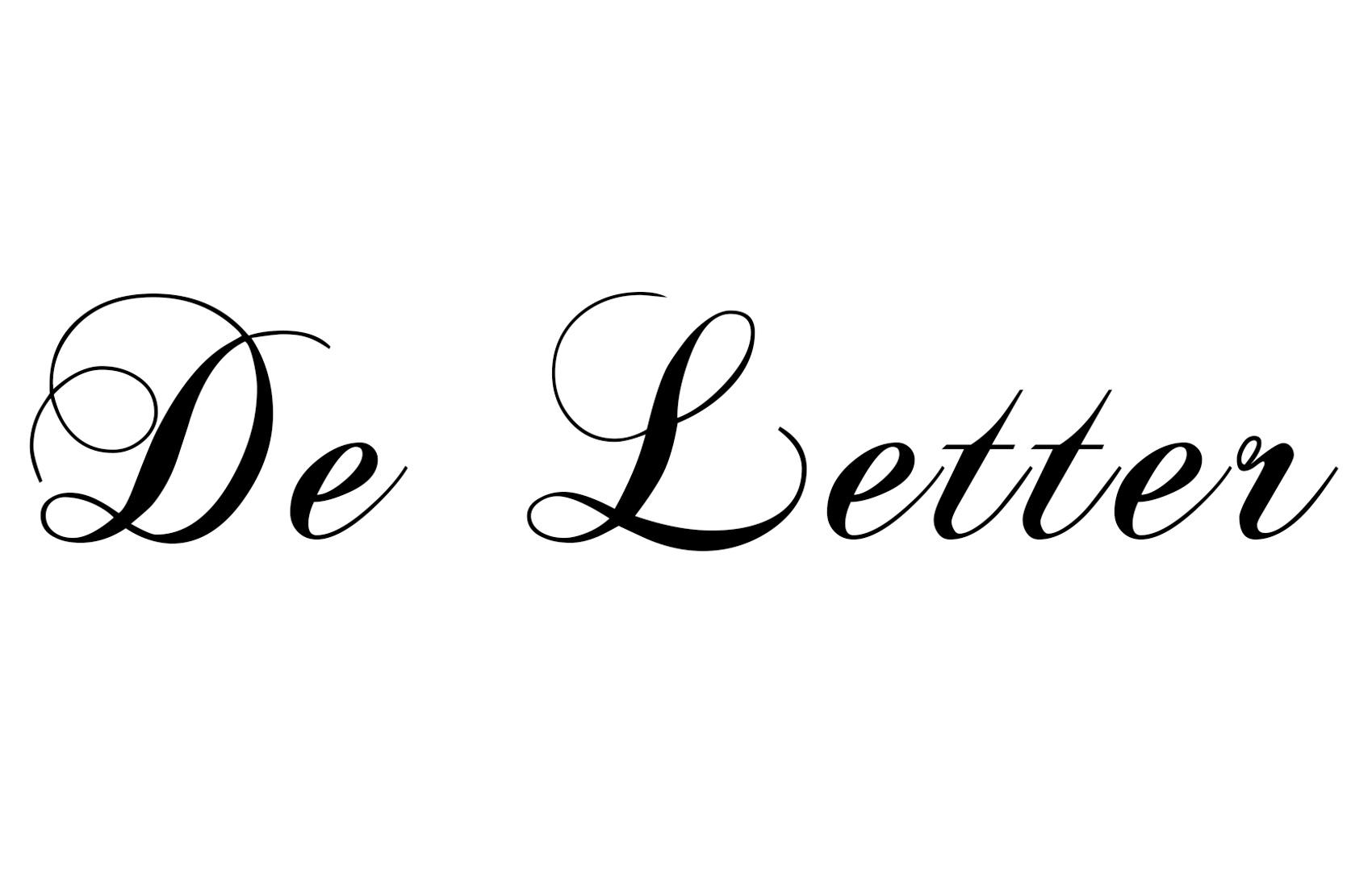 De Letter - Kranten